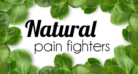 eat a better diet for natural pain killers
